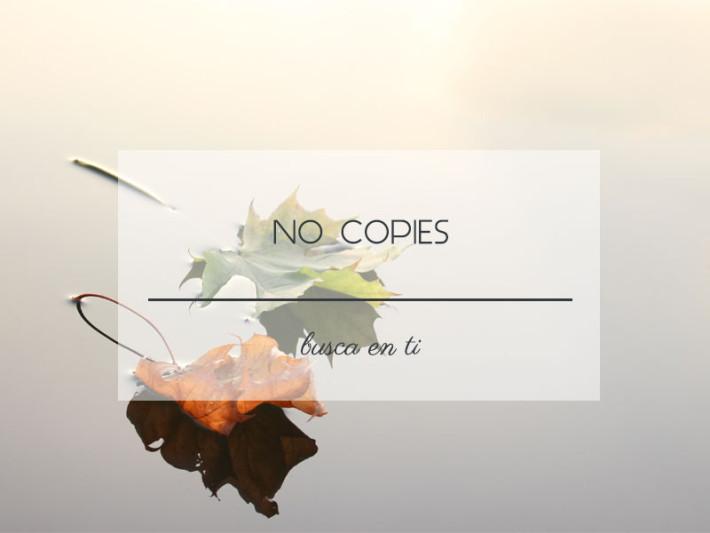 no copies